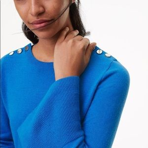 NWT Loft Bell Sleeve Sweater